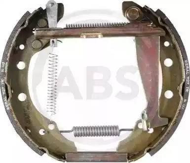A.B.S. 111404 - Bremžu komplekts, trumuļa bremzes autodraugiem.lv
