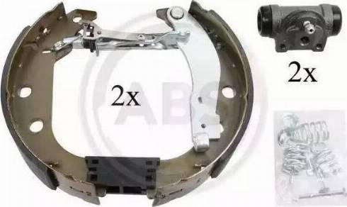 A.B.S. 111413 - Bremžu komplekts, trumuļa bremzes autodraugiem.lv