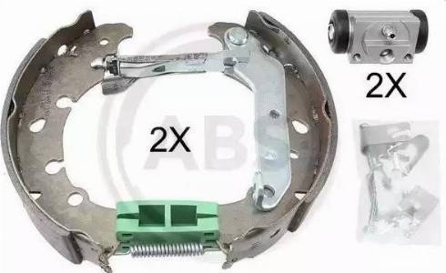 A.B.S. 111428 - Bremžu komplekts, trumuļa bremzes autodraugiem.lv