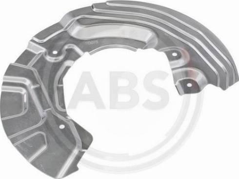 A.B.S. 11107 - Dubļu sargs, Bremžu disks autodraugiem.lv