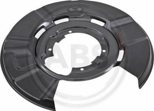 A.B.S. 11121 - Dubļu sargs, Bremžu disks autodraugiem.lv