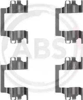 A.B.S. 1117Q - Piederumu komplekts, Disku bremžu uzlikas autodraugiem.lv