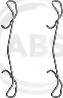 A.B.S. 1189Q - Piederumu komplekts, Disku bremžu uzlikas autodraugiem.lv