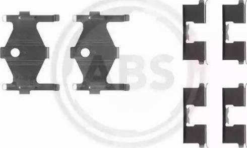 A.B.S. 1185Q - Piederumu komplekts, Disku bremžu uzlikas autodraugiem.lv