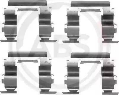 A.B.S. 1181Q - Piederumu komplekts, Disku bremžu uzlikas autodraugiem.lv