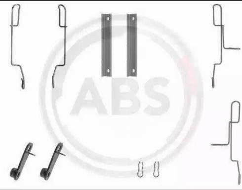 A.B.S. 1188Q - Piederumu komplekts, Disku bremžu uzlikas autodraugiem.lv