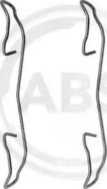 A.B.S. 1187Q - Piederumu komplekts, Disku bremžu uzlikas autodraugiem.lv