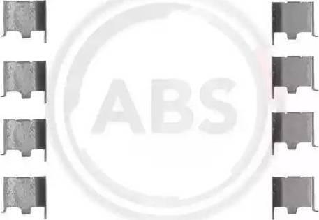 A.B.S. 1132Q - Piederumu komplekts, Disku bremžu uzlikas autodraugiem.lv