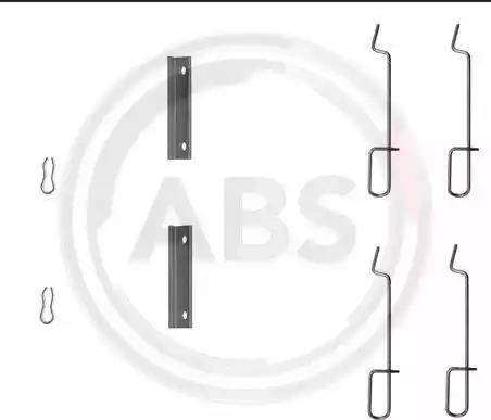 A.B.S. 1125Q - Piederumu komplekts, Disku bremžu uzlikas autodraugiem.lv