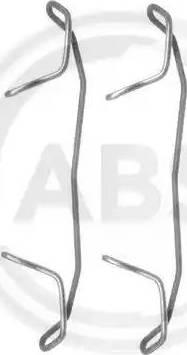 A.B.S. 1123Q - Piederumu komplekts, Disku bremžu uzlikas autodraugiem.lv