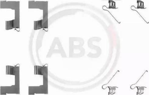 A.B.S. 1179Q - Piederumu komplekts, Disku bremžu uzlikas autodraugiem.lv