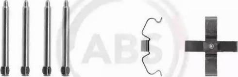 A.B.S. 1266Q - Piederumu komplekts, Disku bremžu uzlikas autodraugiem.lv