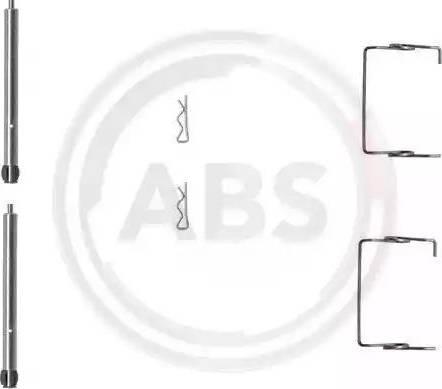 A.B.S. 1267Q - Piederumu komplekts, Disku bremžu uzlikas autodraugiem.lv