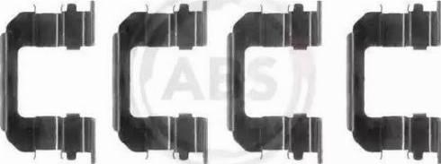 A.B.S. 1287Q - Piederumu komplekts, Disku bremžu uzlikas autodraugiem.lv