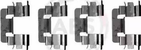 A.B.S. 1229Q - Piederumu komplekts, Disku bremžu uzlikas autodraugiem.lv