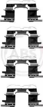 A.B.S. 1227Q - Piederumu komplekts, Disku bremžu uzlikas autodraugiem.lv