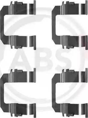 A.B.S. 1275Q - Piederumu komplekts, Disku bremžu uzlikas autodraugiem.lv