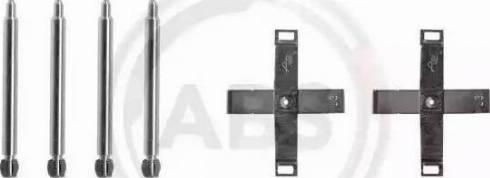 A.B.S. 1271Q - Piederumu komplekts, Disku bremžu uzlikas autodraugiem.lv