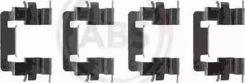 A.B.S. 1278Q - Piederumu komplekts, Disku bremžu uzlikas autodraugiem.lv