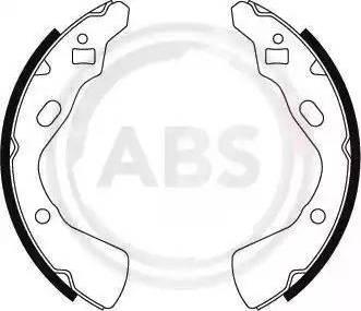 A.B.S. 8857 - Bremžu komplekts, trumuļa bremzes autodraugiem.lv
