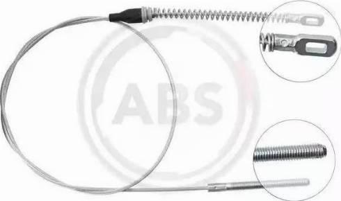 A.B.S. K15458 - Trose, Stāvbremžu sistēma autodraugiem.lv