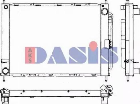AKS Dasis 180092N - Dzesēšanas modulis autodraugiem.lv