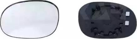 Alkar 6401283 - Spoguļstikls, Ārējais atpakaļskata spogulis autodraugiem.lv