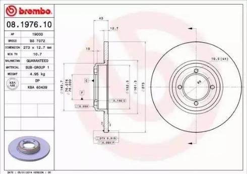 AP 19000 - Bremžu diski autodraugiem.lv