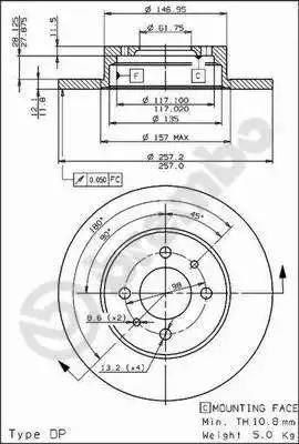 AP 14107 - Bremžu diski autodraugiem.lv