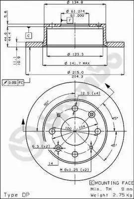AP 10140 - Bremžu diski autodraugiem.lv