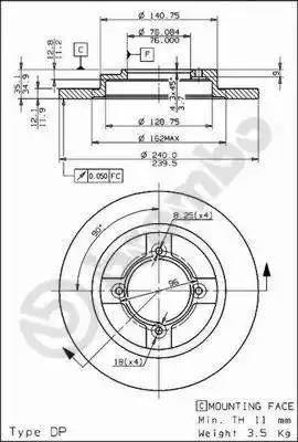 AP 10312 - Bremžu diski autodraugiem.lv