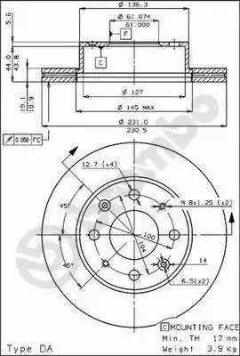 AP 29002 - Bremžu diski autodraugiem.lv