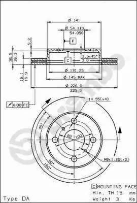 AP 24428 - Bremžu diski autodraugiem.lv