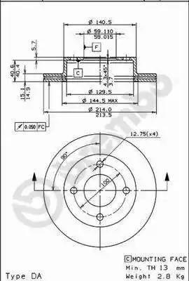 AP 24529 - Bremžu diski autodraugiem.lv