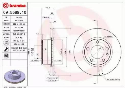 AP 24384 - Bremžu diski autodraugiem.lv