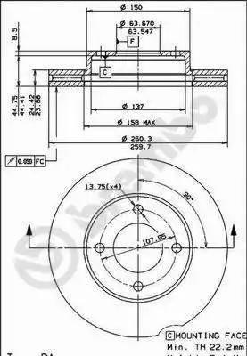 AP 24298 - Bremžu diski autodraugiem.lv