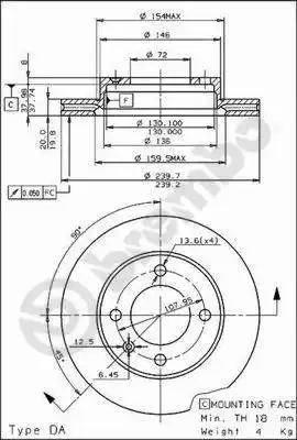 AP 20206 - Bremžu diski autodraugiem.lv