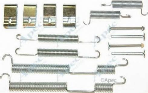 APEC braking KIT2081 - Piederumu komplekts, Bremžu loki autodraugiem.lv