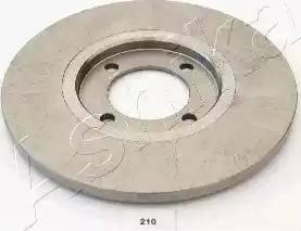 Ashika 60-02-210 - Bremžu diski autodraugiem.lv
