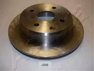 Ashika 61-02-206 - Bremžu diski autodraugiem.lv