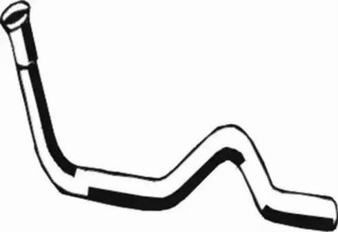Asmet 03.023 - Izplūdes caurule autodraugiem.lv
