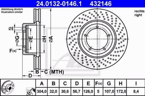 A.B.S. 15807 - Bremžu diski autodraugiem.lv