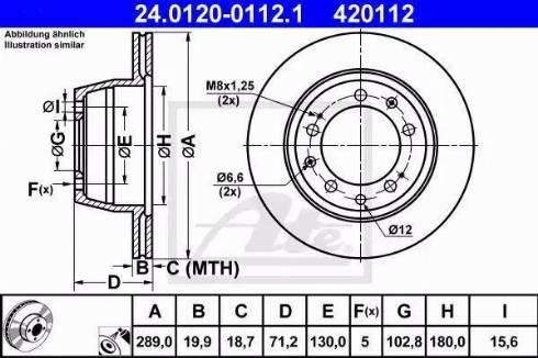 ATE 24.0120-0112.1 - Bremžu diski autodraugiem.lv