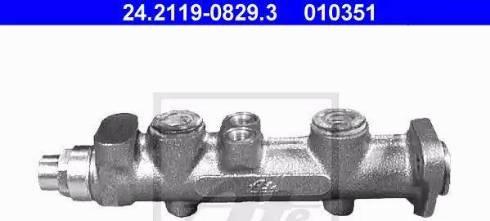 ATE 24.2119-0829.3 - Galvenais bremžu cilindrs autodraugiem.lv