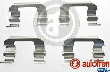 AUTOFREN SEINSA D42486A - Piederumu komplekts, Disku bremžu uzlikas autodraugiem.lv