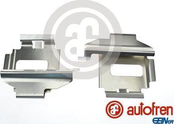 AUTOFREN SEINSA D42580A - Piederumu komplekts, Disku bremžu uzlikas autodraugiem.lv
