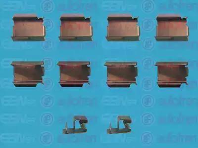 AUTOFREN SEINSA D42399A - Piederumu komplekts, Disku bremžu uzlikas autodraugiem.lv