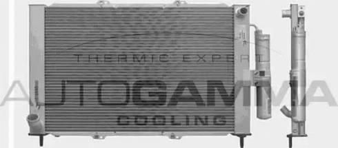 Autogamma 103353 - Radiators, Motora dzesēšanas sistēma autodraugiem.lv