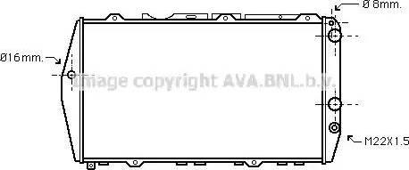 Ava Quality Cooling AI2019 - Radiators, Motora dzesēšanas sistēma autodraugiem.lv