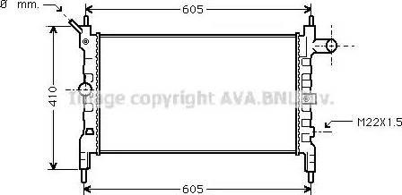 Ava Quality Cooling OLA2023 - Radiators, Motora dzesēšanas sistēma autodraugiem.lv